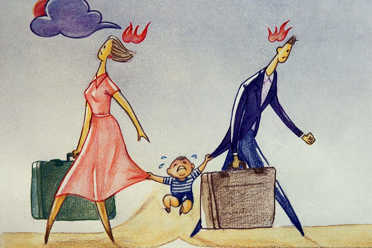 离婚怎么把对孩子的伤害降到最低?