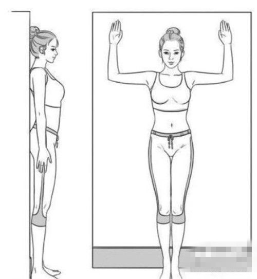 靠墙站能瘦吗?靠墙站立一月能瘦几斤?