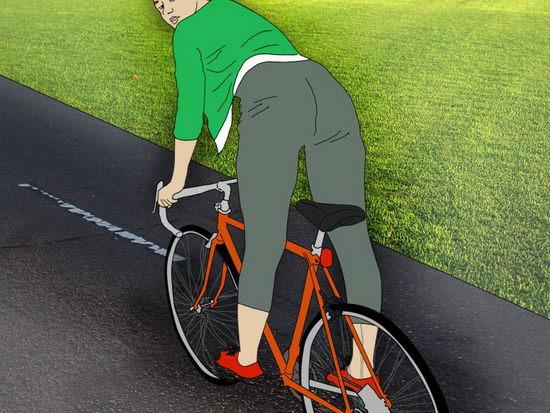 骑单车的不当摩擦会引起私密处感染
