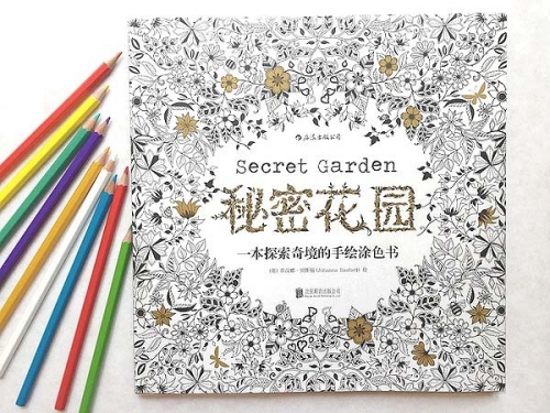 """为什么说""""秘密花园""""是减压神器?"""