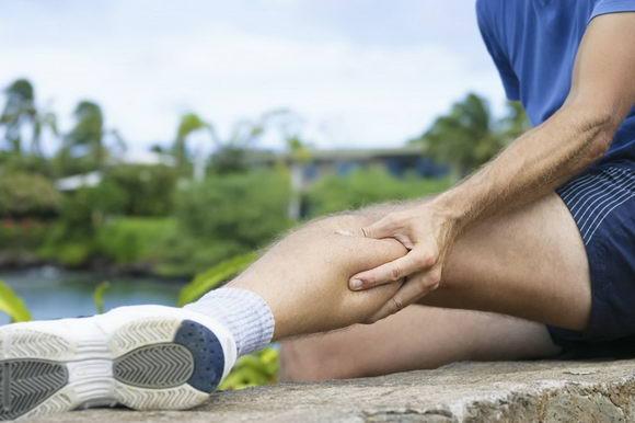 跑步后肌肉酸痛因为乳酸浓度增高!