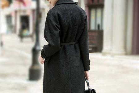 冬天最火的呢子大衣,这样搭配让你酷劲十足!