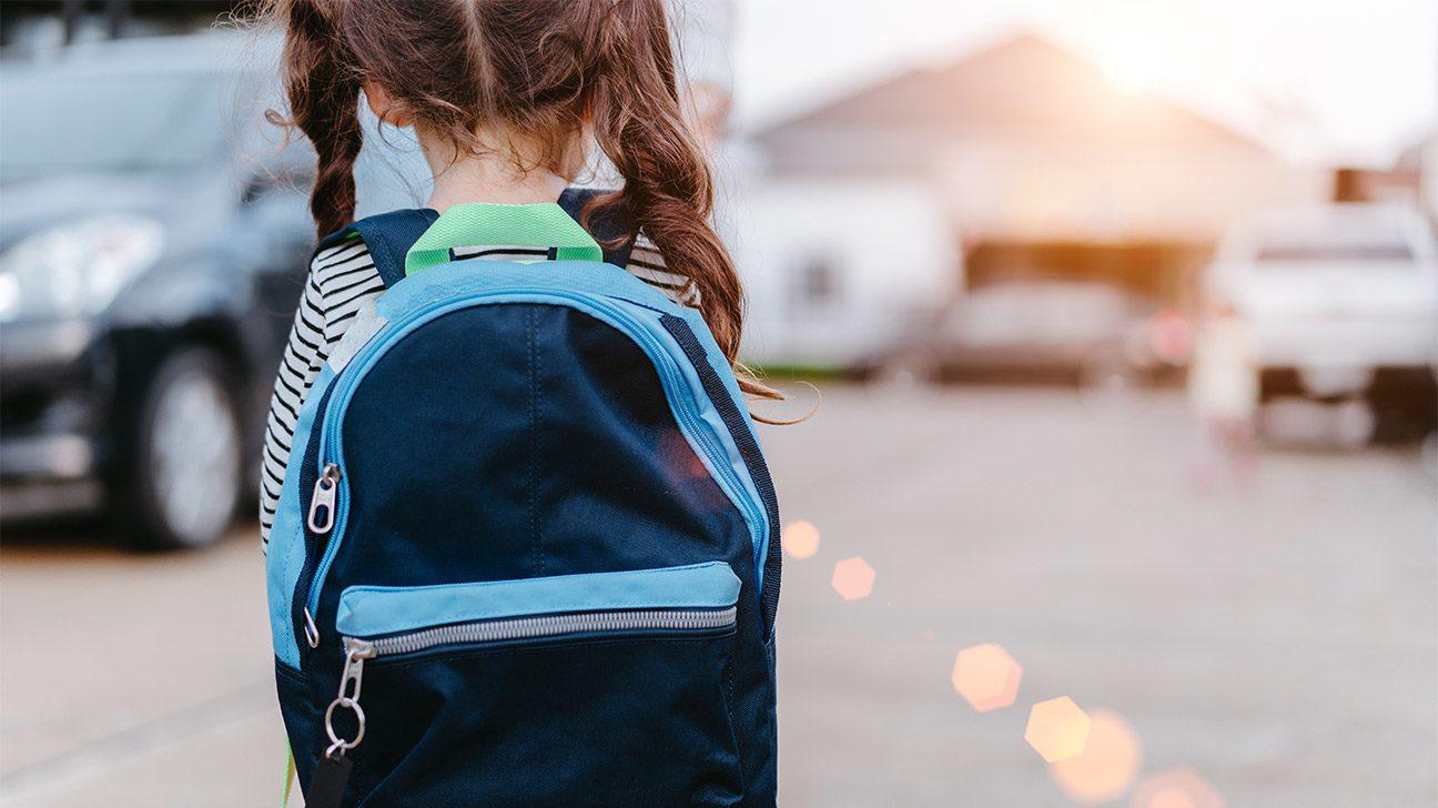儿童书包,如何判断孩子的书包是否太重了?