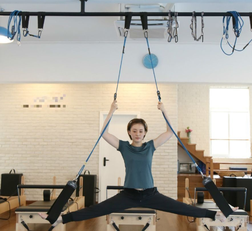 空中瑜伽是什么?会掉下来吗?