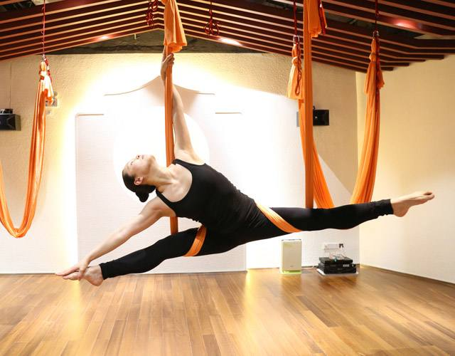 空中瑜伽适合什么人?有重量限制吗?