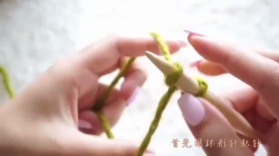 DIY可爱编织毛线帽,萌妹子的最爱!