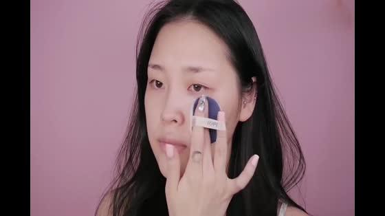 超级简单的粉色日常水润妆教学,学完都是粉粉哒