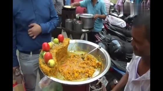 印度街头特色美食小吃,看完我是吃不下去!