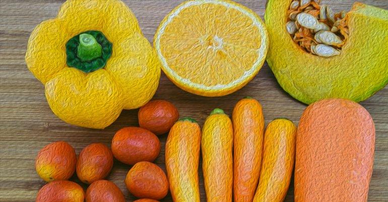 您应该在饮食中添加富含类胡萝卜素的食物
