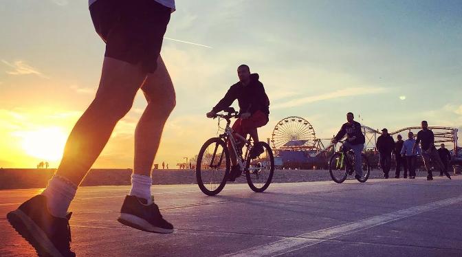 骑自行车与跑步有什么好处?